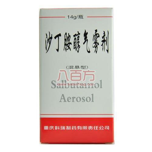 沙丁胺醇气雾剂(混悬型)