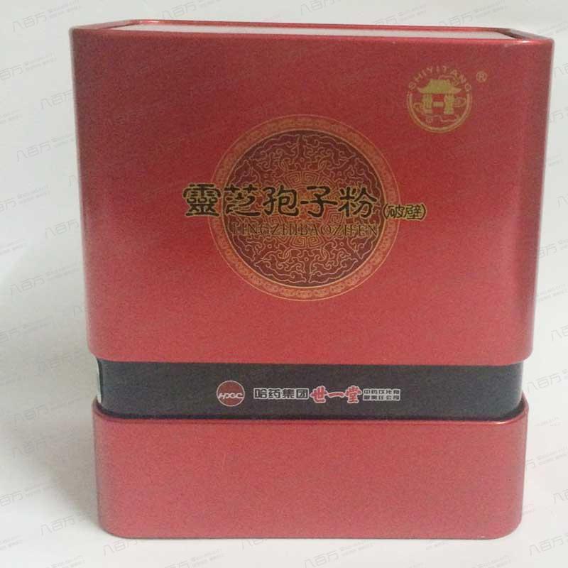 【世一堂】灵芝孢子粉(破壁)-铁盒