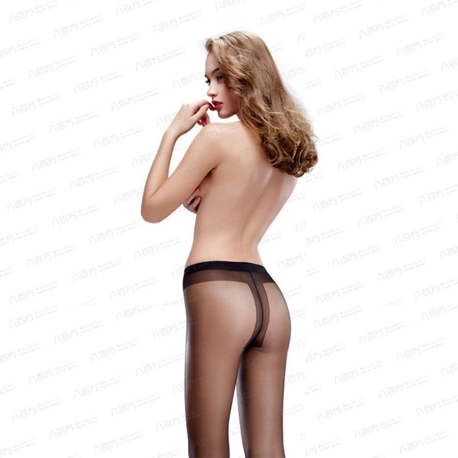 【情趣内衣】15D透薄丝袜 网袜T裆 女式性感隐形超薄袜 无痕显瘦超薄透明防勾丝连裤袜 超弹力8303
