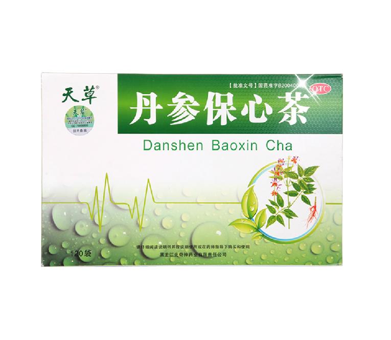 【天草】 丹參保心茶 (120袋裝)
