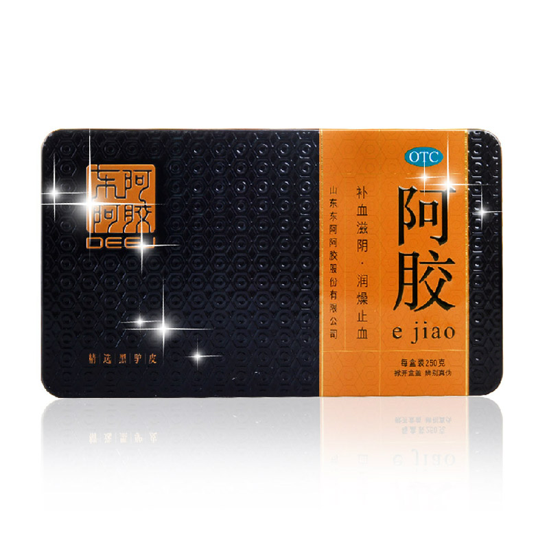 阿胶(金标铁盒)/250g/金标铁盒  山东东阿阿胶股份有限公司