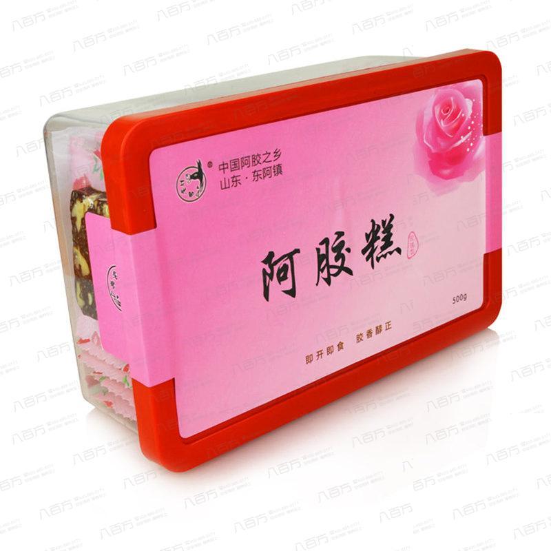 阿胶膏 即食阿胶糕(玫瑰阿胶糕) 盛东堂 500g 女士传统固元膏