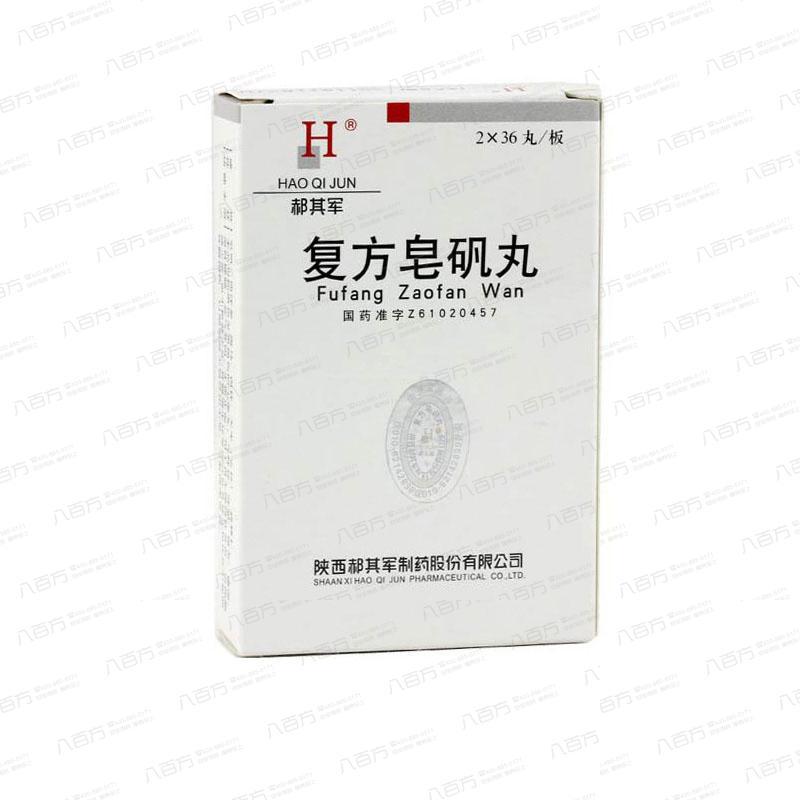10盒特惠装 【郝其军】 复方皂矾丸 (72丸装) 血小板减少症治疗药