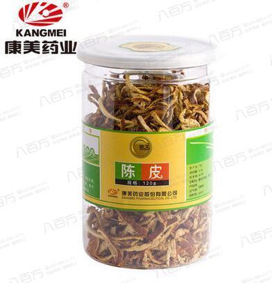 康美药业 瓶装优质陈皮  120g