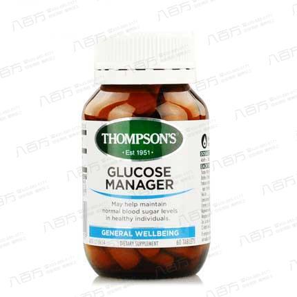 【新西兰进口】汤普森thompsons 血糖平衡素 调节血糖
