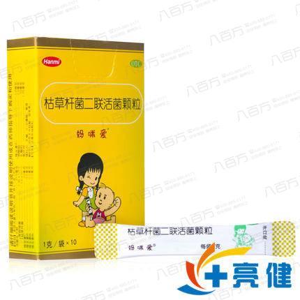 妈咪爱 枯草杆菌二联活菌颗粒 10袋北京韩美药品有限公司