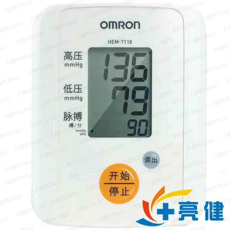 欧姆龙 电子血压计(手臂式) HEM-7118 欧姆龙(大连)有限公司