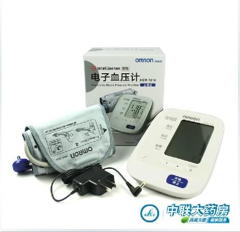 欧姆龙电子血压计hem-7210