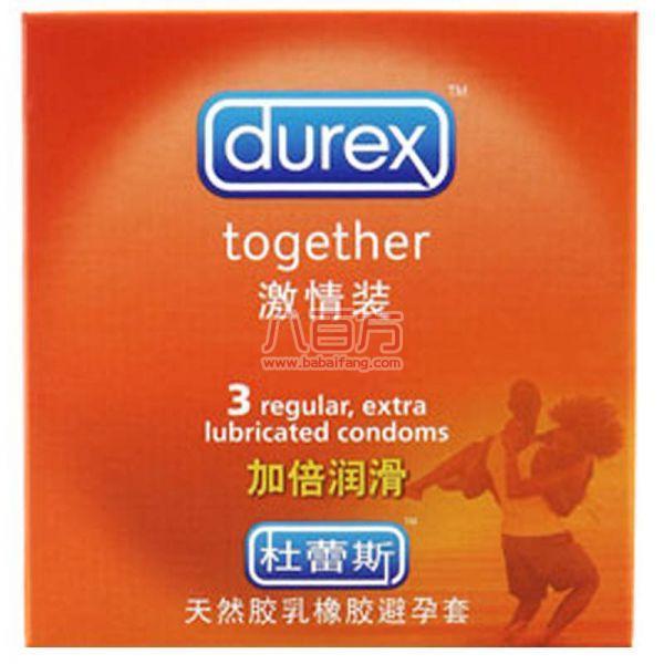 杜蕾斯 激情装(3只装) 可降低感染艾滋病和其他性病