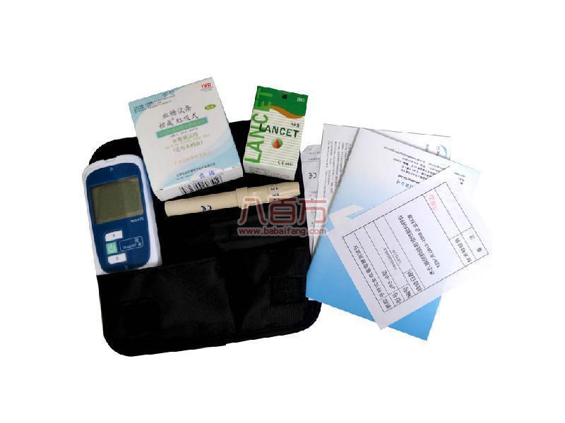 【怡成】血糖仪专用虹吸试纸条 50片 送怡成JPS-6型血糖仪